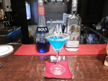JR茨木駅前BAR FIGAROのカクテル「ブルー・マルガリータ(Blue Margarita)」